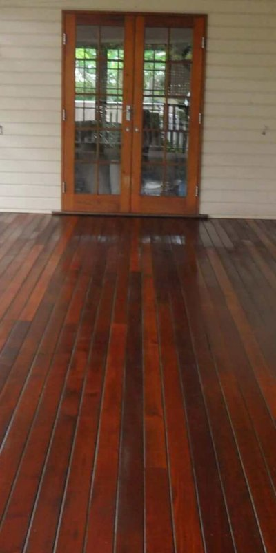 Veranda Lacquered Polished Floor